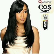 COS YAKY QUE MILKYWAY HUMAN HAIR MASTERMIX STRAIGHT WEAVE EXTENSION ALL SIZE