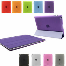 Thin Leather Viewing Typing Stand Smart Cover + Back Shell Case for iPad 2 3 4