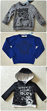 NWT Authentic Young Versace Infant Baby Boy Long Sleeve Zip Sweater (6 Months)