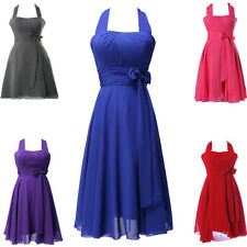 CHEAP New Bridesmaid Prom Ball Gown Cocktail Short Evening Dresses Stock SZ 2-16