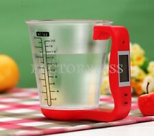 Electronic Digital Jug Kitchen Scale Detachable Measuring Cup 0.1g Precision GBW