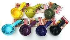 KitchenAid set of Plastic Measuring Cups with Soft Grip Handles Choose Color
