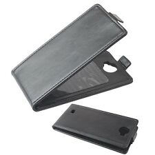 """NEW 4.5"""" Smart Phone Protective Flip Case Cover leather For Cubot P5 Android 4.2"""