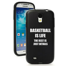 For Samsung Galaxy S3 S4 S5 Aluminum Silicone Hard Case Cover Basketball Is Life