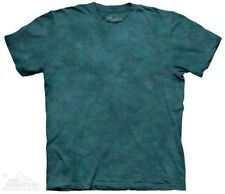 Sequoia Solid Color Green Tie Dye T-Shirt by The Mountain. Sizes S-3XL NEW