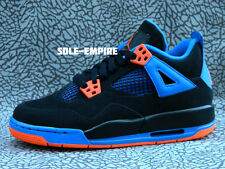 Nike Air Jordan 4 Retro GS 4Y Cavs IV 408452-027 Black Safety Orange Game Royal