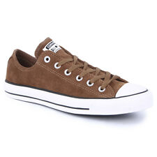 Converse All Star As Sde Ox Womens Mens Trainers Suede Brown Black New Shoes