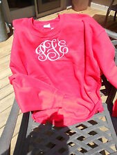 Monogrammed Classic Crewneck Sweatshirt -  Made just for You