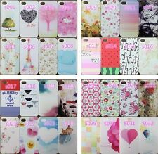 Perfume Paint Pattern Phone Hard Back Skin Case Cover for Apple IPhone4 4S 5 5S