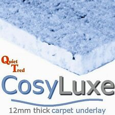 CosyLuxe 12mm thick carpet underlay - cheapest price package deals FREE DELIVERY