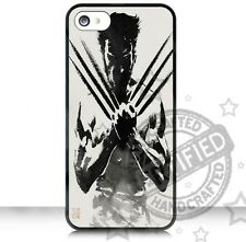 Apple iPhone 4,4S / 5,5S /5C Case Cover Wolverine RUBBER CASE
