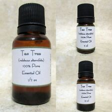 Tea Tree Pure Essential Oil  Buy any 3 same size get 1 Free
