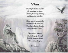 Father, Dad, Step-Father Personalized Poem Gift For Birthday