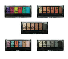 Technic Six (6) Colour Eyeshadow Palette, Various Palettes Available Pick Yours
