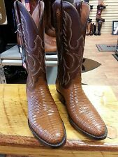 Men's USA Handmade Black Jack Lizard Boots--REDUCED!