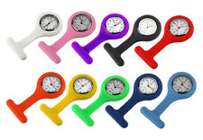 Mini Portable Silicone Gel Doctor Nurses Brooch Pin Pocket Fob Tunic Watch