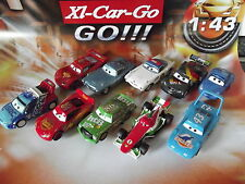 Carrera GO !!! Cars Auto nach Wahl McQueen King Hicks Max Francesco Slotcar 1:43