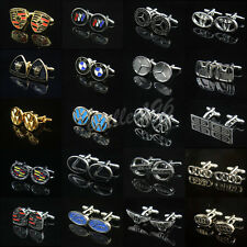 Car Badge Logo Novelty Cufflinks Wedding Bussiness Men shirt Rare Cuff links