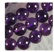 AAA 4mm-16mm Russican Amethyst Gemstone Round Loose Beads 15