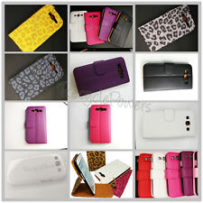Lychee PU Leather Vertical Leopard Flip Wallet Case For Samsung S3 i9300 LOT