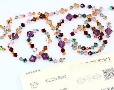 SWAROVSKI 5328 XILION Bicone Beads - Many Colors & Sizes