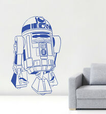 R2D2 Wall Art Sticker Design Decor Vinyl Decal Star Wars Jedi C3PO CG076