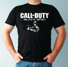 T-shirt Da Uomo Call Of Duty Black Ops 2 Gioco Xbox 360 Mw3