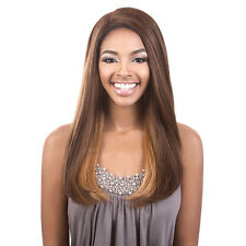 "Beshe Full Lace Deep Part Synthetic Long Straight Hair Wig 22""- LLDP-122"
