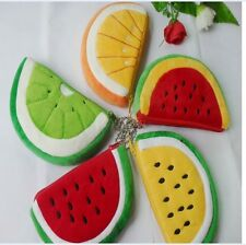 Lovely fruit & watermelon model coin Purse women's MINI purse