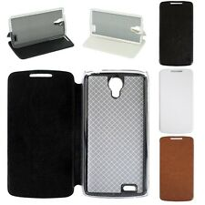 """Original 4.7"""" Luxury PU Leather Stand Flip Case Cover For Lenovo S820 Smartphone"""
