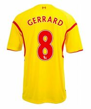Steven Gerrard Liverpool Kids (Boys Youth) Away Jersey 2014 – 2015