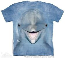 Dolphin Face Kids T-Shirt from The Mountain. Cute Ocean Aquatic Youth Sizes NEW