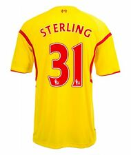 Raheem Sterling Liverpool Kids (Boys Youth) Away Jersey 2014 – 2015