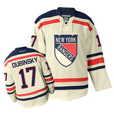 NHL New York Rangers Brandon Dubinsky Premier Ice Hockey Shirt Jersey