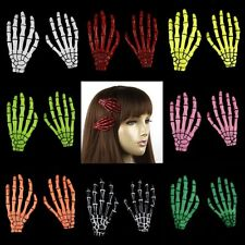 A PAIR SKELETON HANDS ZOMBIE HAIR CLIPS (2 PCS) #LHP344