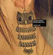 Hot Fashion European Style Lovely Owl Big Black Eyes Dangle Earring