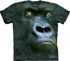 Silverback Portrait Kids T-Shirt from The Mountain. Gorilla Childs Sizes NEW