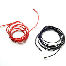 10 12 14 16 20 22 Gauge AWG Black Red 100cm (3.3 FT) Flexible Silicone Wire Y5RG
