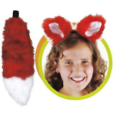 SKUNK EARS AND TAIL SET FAUX FUR by ELOPE . SAME DAY FREE SHIPPING