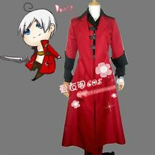 Action Games Devil May Cry Dante Cosplay Red Coat Uniform Costume