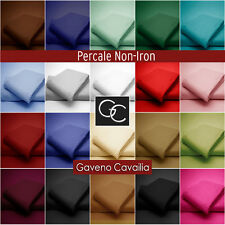 180 THREAD COUNT FITTED,FLAT& FITTED VALANCE SHEETS  PERCALE QUALITY NON IRON