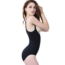 Seamless 90% Nylon+10% Spandex Slimming Tummy Control Body Suits Shapewear s-xxl
