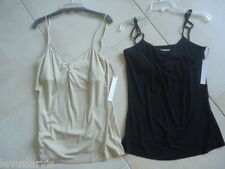 Great Tanks by Twelfth Street Cynthia Vincent in Black or Nude NWT size XS-L $78