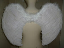 Large Feathered Angel Wings,White,Blk,Red,pink Fancy dress,Cosplay,Hen Party,