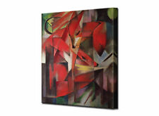 Franz Marc The Fox - High Quality Stretched Canvas Print