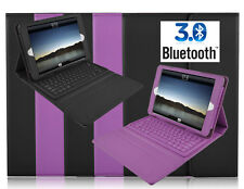 Bluetooth Wireless Keyboard Leather Case Cover Stand for iPad 4 Mini Galaxy Tab2