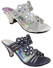 Women Evening Dress Shoes Rhinestones High Heels Platform Wedding Pumps Kinmi_09