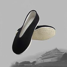 Traditional Chinese Martial Jackie Chan Kung Fu Shoes Slip On Cotton Sole Type A