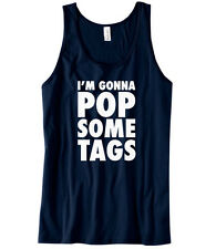 I'm gonna pop some tags vest | Funny tank macklemore hip t-shirt sleeveless 0112