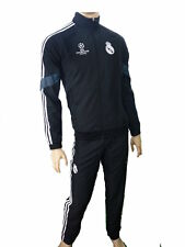 Real Madrid Adidas Presentation Trainingsanzug UCL 2014 15 Herren Schwarz
